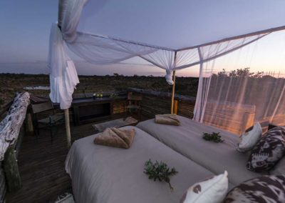 Beautiful Tours Botswana Sky Beds at Sunrise