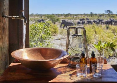 Beautiful Tours Botswana Sky Beds Bathroom