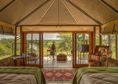 Beautiful Tours Botswana Meno A Kwena Tent Interior