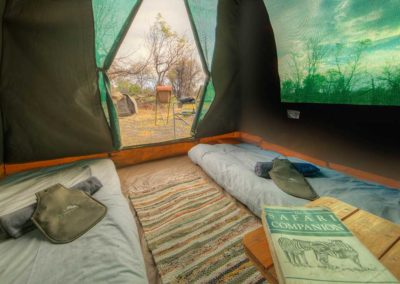 Beautiful Tours Botswana Mobile Safari Tent Interior