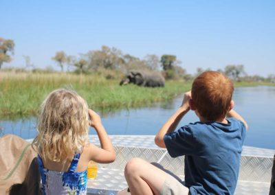 Beautiful Tours Botswana Mobile Safari Camp Boating