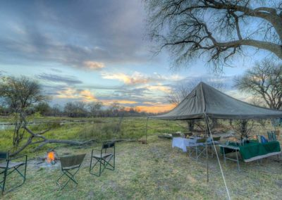 Beautiful Tours Botswana Mobile Safari Camp Setup